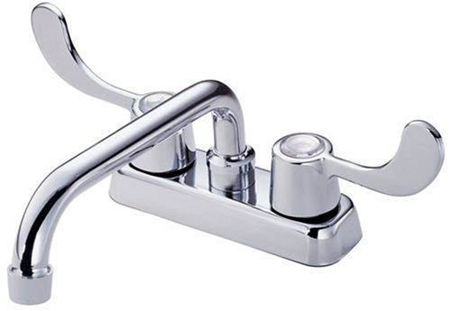 Images for Danze D100353 Melrose Two Handle Laundry Faucet with Wristblade Handles and Hose Thread Spout, Chrome