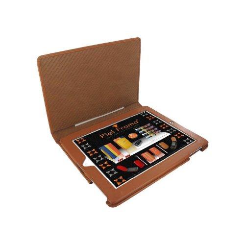 Piel Frama Folio Style Leather Case for Apple iPad/iPad 2/iPad 3/New iPad Retina Display - Tan Black Friday & Cyber Monday 2014