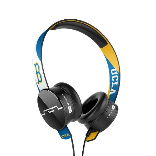 SOL REPUBLIC 1211-UCL Collegiate Series Tracks On-Ear Headphones with Three Button Remote and Microphone - UCLA
