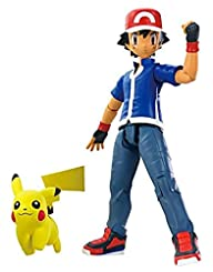Pok�mon Ash and 2″ Pikachu