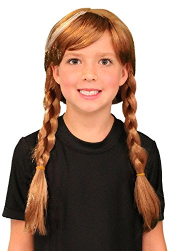 My Costume Wigs Princess Anna Wig Inspired By Disney's Frozen One Size Fits All