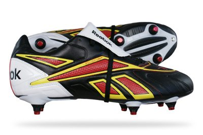Reebok Valde SG Mens Football Boots - Black - SIZE UK 9.5