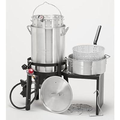 Outdoor Gourmet® Deluxe Durable Propane Turkey Fryer Kit