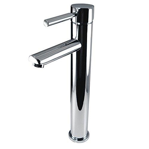 Fresca Bath FFT1044CH Tolerus Single Hole Vessel Mount Bathroom Vanity Faucet, Chrome