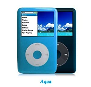 Funda Shades iPod Classic 6G/7G - 80, 120, 160GB (Mod. 2009) - Color Azul Claro - Aqua