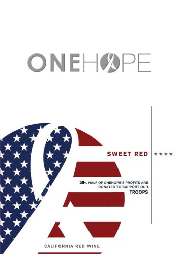 Nv Onehope California Sweet Red 750 Ml
