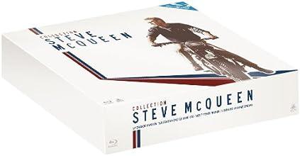 Collection Steve McQueen - 4 films : La grande évasion + Les Sept mercenaires + L'affaire Thomas Crown + La canonnière du Yang-Tsé [Blu-ray] [Édition Limitée]
