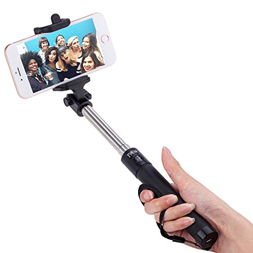 selfie stick piqiu built in bluetooth remote shutter with selfie stick for iphone se 6s 6s plus. Black Bedroom Furniture Sets. Home Design Ideas