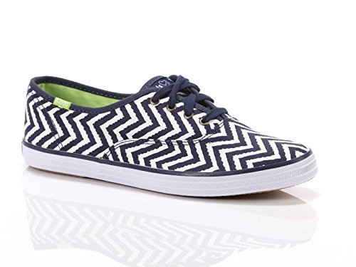 Keds, Donna, Taylor Swift Champion Zig Zag, Canvas, Sneakers, Bianco, 41 EU