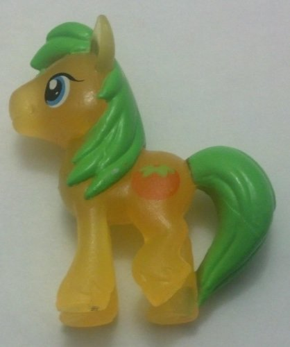 My Little Pony Friendship Is Magic Mosely Orange & Collector Card # 04 Neon B...