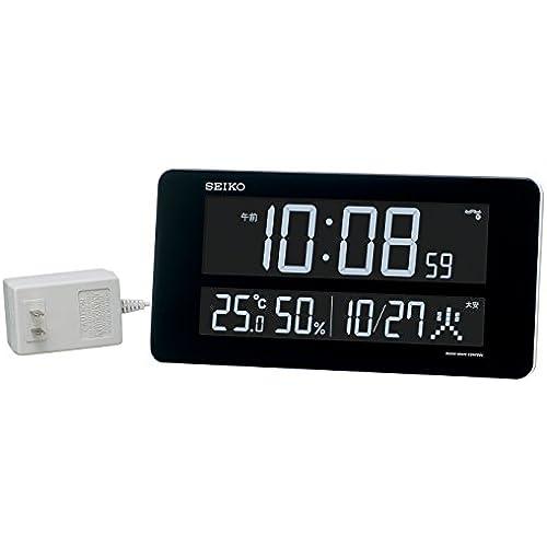 세이코 디지털 벽 탁상 겸용 라디오 시계 DL208W