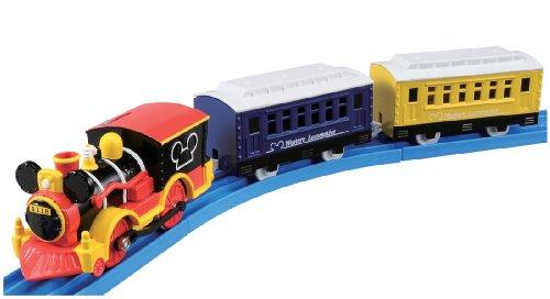 Takaratomy Plarail Disney Dream Railway Mickey Mouse Western Locomotive