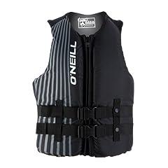 Buy O'Neill Hybrid USCG Vest (Black) by O'Neill Wetsuits