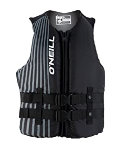 O'Neill Hybrid USCG Vest (Black, Medium)