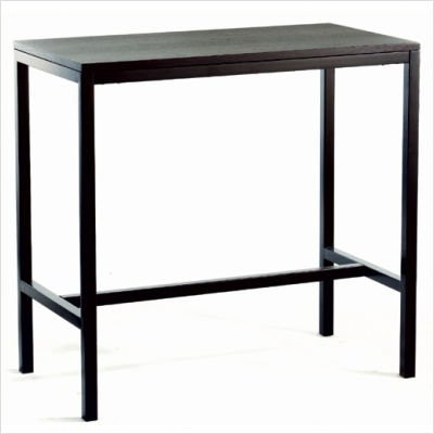 TAG Kinzie High Dining Table Java 42 H X 44 W X 24 D 24001
