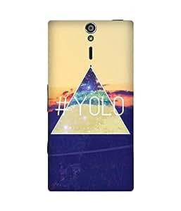 Yolo Diamond Sony Xperia S Case