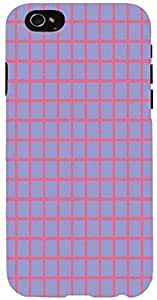Snoogg chequered pattern design 1413 Case Cover For Apple Iphone 6 iphone 6