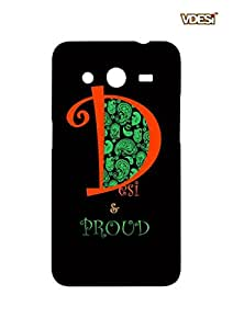 VDESI Designer Matte Back Cover For Samsung Galaxy Core 2 (G355H)-115400791