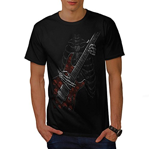 skeleton-guitar-hero-rib-music-men-new-black-m-t-shirt-wellcoda