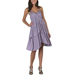 Go International® Ruffle Strappy Dress - Peruvian Violet : Target from target.com