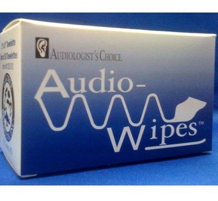 Audiowipes Individually Packaged Towelettes - Box Of 30