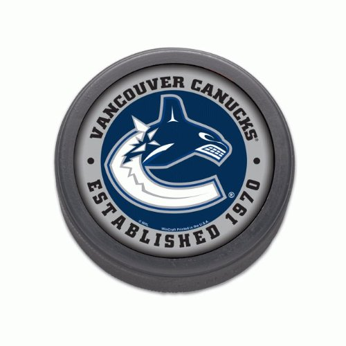 NHL-hockey-puck-Vancouver-Canucks