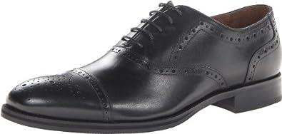 Johnston & Murphy Men's Tyndall Cap Toe Tuxedo Oxford,Black,8 M US