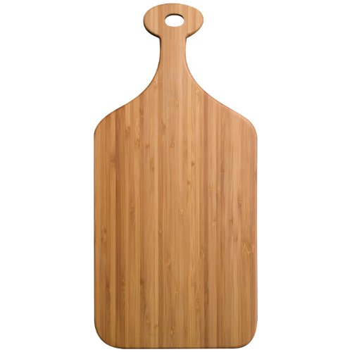 Totally Bamboo Greenlight Paddle Cutting Board, Small
