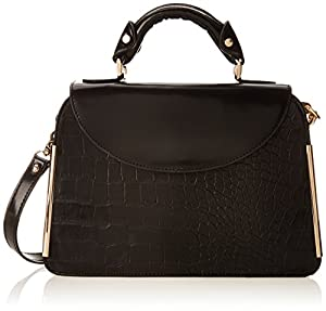 Ivanka Trump Crystal IT1814 Top Handle Bag,Black,One Size