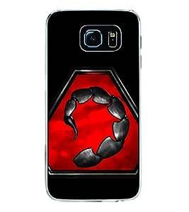 Printvisa Scorpion 2D Hard Polycarbonate Designer Back Case Cover For Samsung Galaxy S6 Edge :: Samsung Galaxy S6 Edge G925 :: Samsung Galaxy S6 Edge G925I G9250 G925A G925F G925Fq G925K G925L G925S G925T