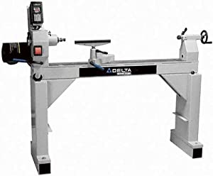 DELTA 46-755X 16-Inch Swing by 42-Inch between Centers 2 Horsepower Variable Speed Woodworking Lathe, 230-Volt 1 Phase