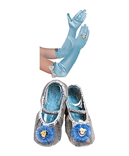 Disney Princess Cinderella Slipper Shoes & Gloves