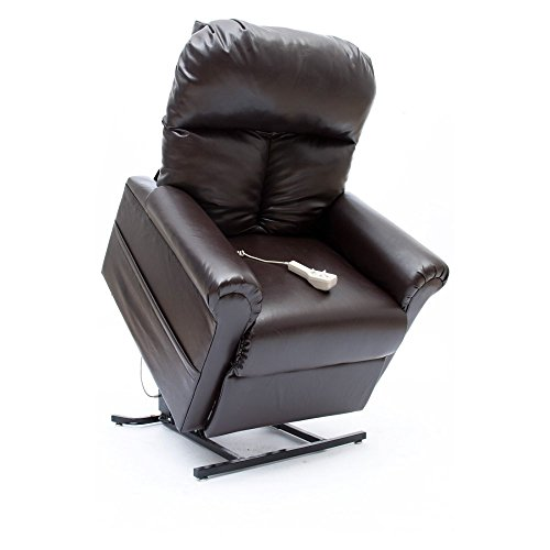 Mega Motion Infinite Position Faux Leather Power Lift Recliner (Mega Motion Infinite Position compare prices)