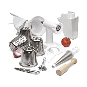 Click to buy Cool Kitchen Gadget: KitchenAid FPPA Mixer Attachment Pack for Stand Mixers from Amazon!