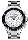 Baume &#038; Mercier Watches:Baume &#038; Mercier MOAO8724 Riviera Chronograph White Dial Stainless Steel Automatic Men's Watch