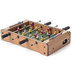 GeekGoodies Foosball Football Soccer Mini Game Table