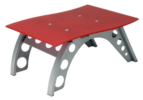 Pitstop Furniture St9000R Red Chicane Side Table