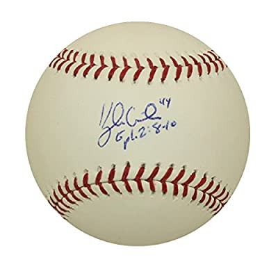 Kyle Gibson Autographed Minnesota Twins Baseball with Grandstand Cube Included