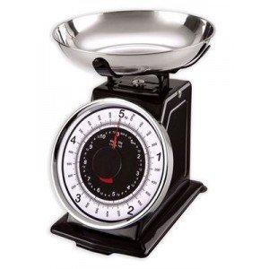 3 kgs balance de cuisine metal style retro design - Balance de cuisine a aiguille ...