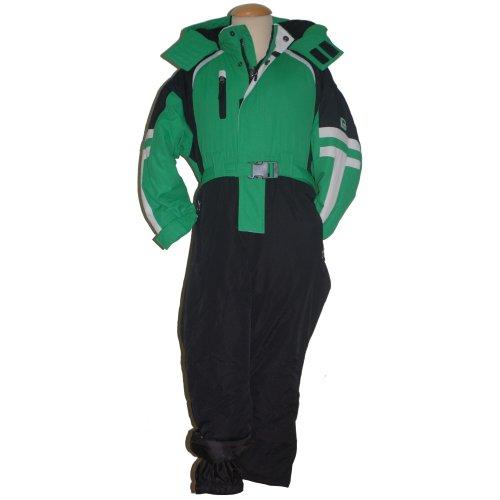 Outburst - Boys ski overall, green