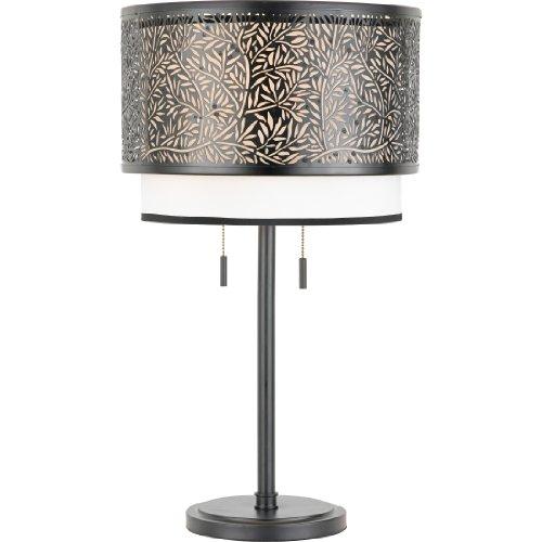 Fresh Quoizel UTK Utopia Table Lamp Mystic Black