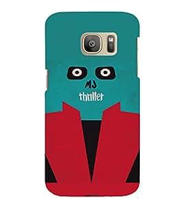 PrintVisa MJ Thriller Design 3D Hard Polycarbonate Designer Back Case Cover for Samsung Galaxy S7