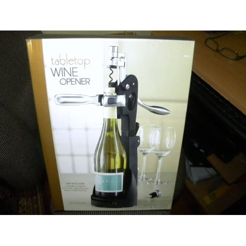 bed bath beyond tabletop wine opener size l x 15in h x d set includes. Black Bedroom Furniture Sets. Home Design Ideas