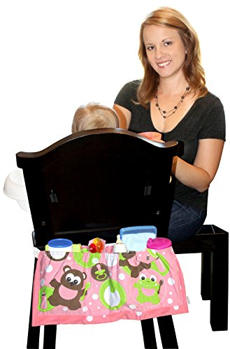 The Highchair Organizer, My Pink Bear Pattern Design