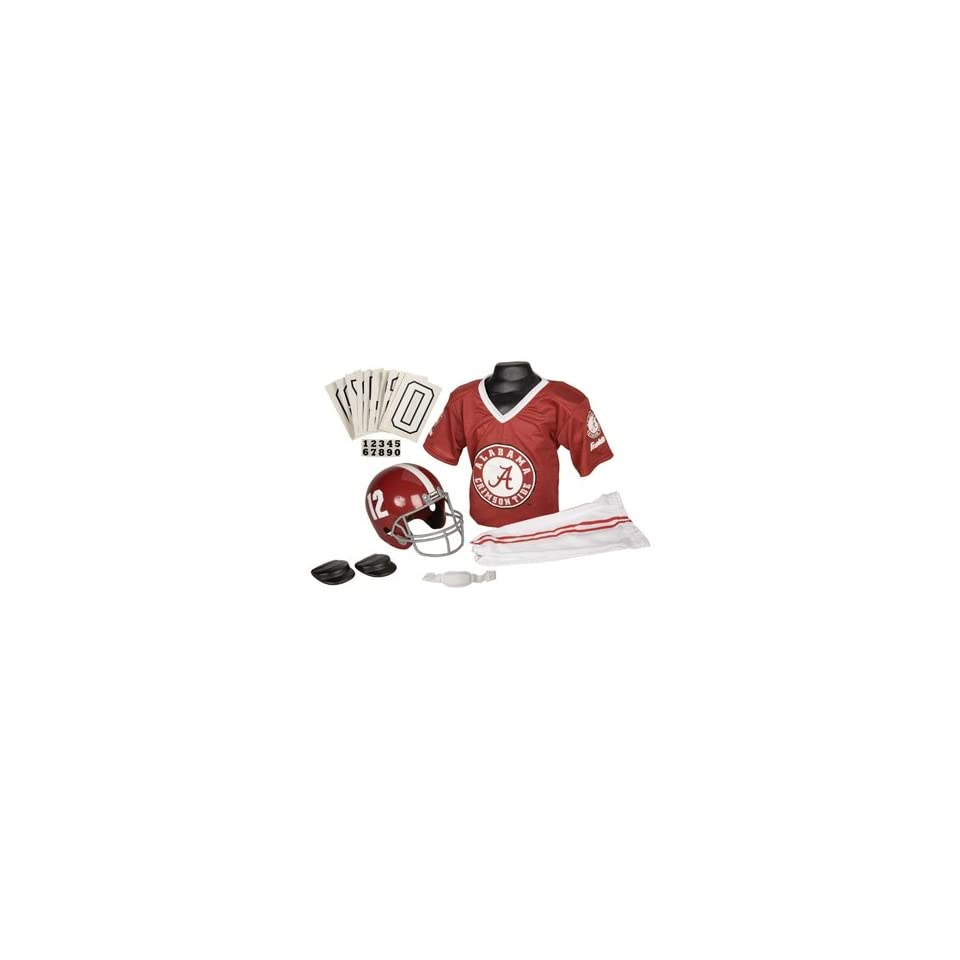 Alabama Crimson Tide Football Deluxe Uniform Set   Size