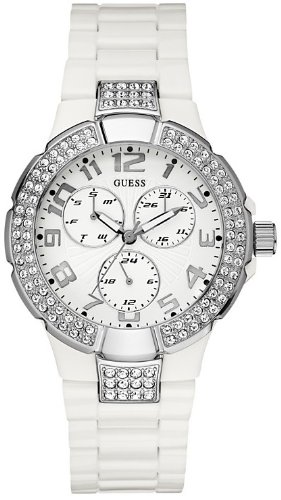 GUESS Women's Status In-the-Round Multifunction Watch