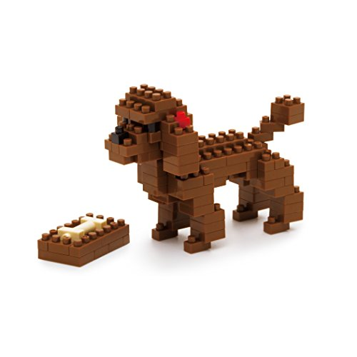 Nanoblock Toy Poodle Building Kit - 1