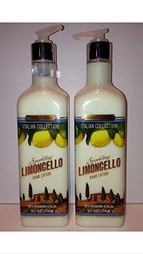 discount duty free Bath & Body Works Sparkling Limoncello Luxury Hand Lotion 15 fl.oz 2 Pack by Bath & Body Works