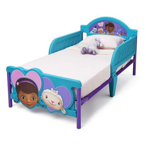 Delta Children'S Products Doc Mcstuffins 3D Toddler Bed front-397199