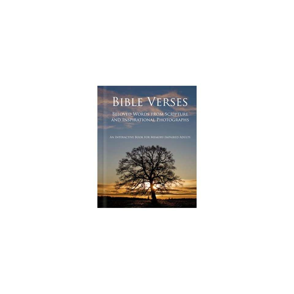 Bible Verses   Alzheimers / Dementia / Memory Loss Activity Book for Patients and Caregivers